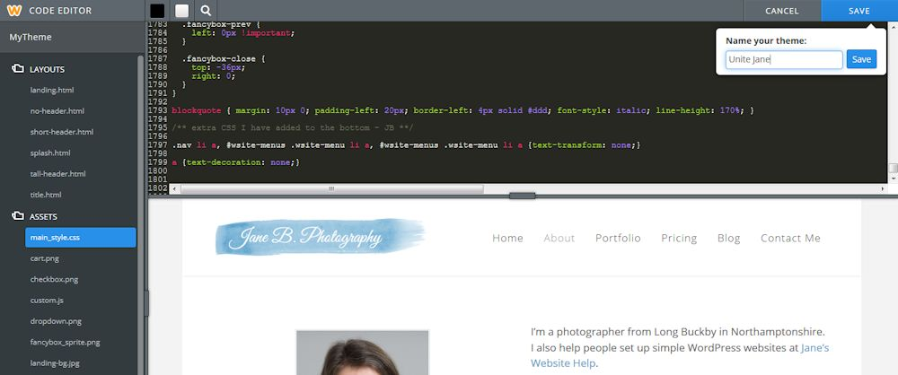 css weebly